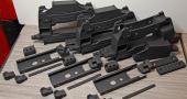 Armory shot of several P90 kits